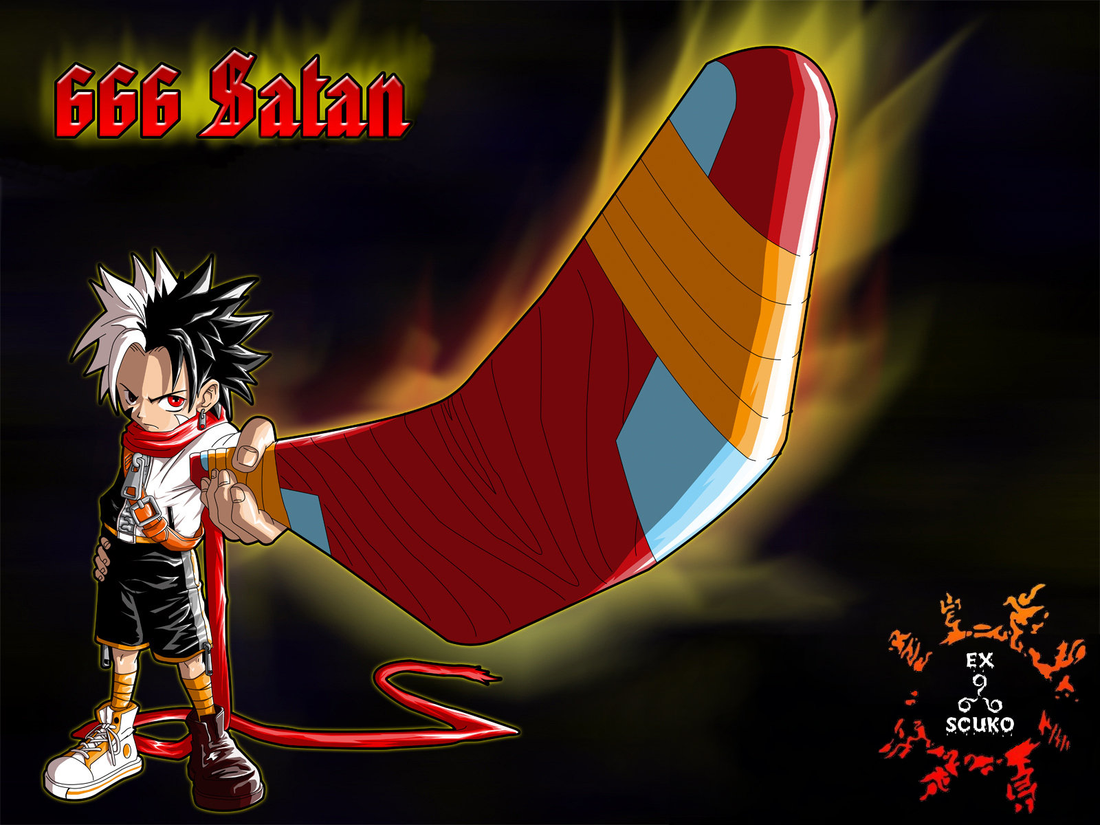 Манга Онлайн - 666 Satan / 666 Сатана 9 # 35 Обещание - Страница №1 - 666 Satan